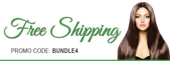 Use promo code BUNDLE4 when cashing out to receive free shipping on an order of 4 bundles or more. Free Shipping is standard ground shipping on orders of more than 4 bundles, additional rates apply for overnight shipping.
